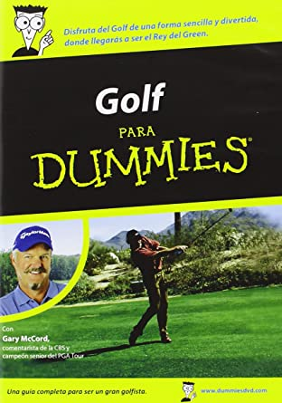 Golf Para Dummies [DVD]: Amazon.es: Gary McCord, Chris ...