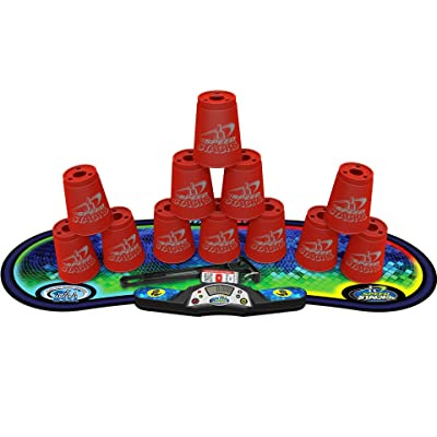 Speed Stacks Competitor Sport Stacking Set, Red: Sports & Outdoors