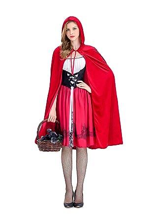 Castillo Reina Traje Red Riding Hood Dress Up Halloween ...