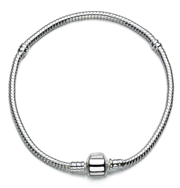 Bracelet Snake Chain wybeads 925 Sterling Silver 23cm = 9.06in 4mm