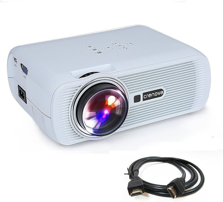 Crenova XPE460 - Proyector LED, Upgrade beamer 800 * 480 ...