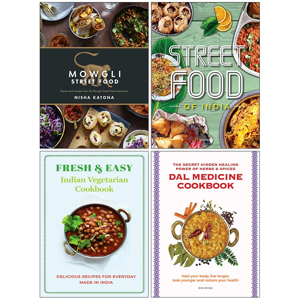 Mowgli Street Food Hardcover Fresh Easy Indian Street