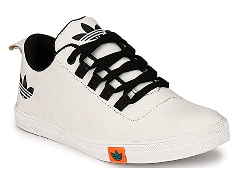 gas gooey Lotta  Buy Flooristo Casual White Sneakers for Mens/Boys Shoes Stylish at Amazon.in
