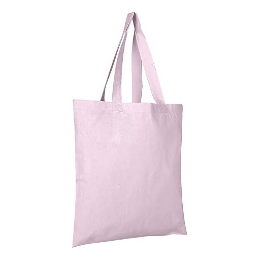 BagzDepot - 2 docenas (pack de 24) de bolsas Tote de algodón ...