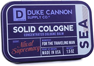 product image for Duke Cannon Men's Solid Cologne, 1.5 ounce - Sea (Naval Supremacy Scent)