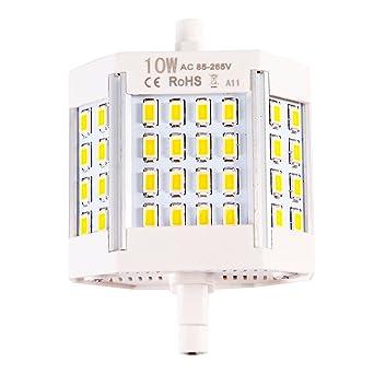 Lampe Led R7s 78 Mm 10 W Ampoule Halogene Pour Lampes Economie D