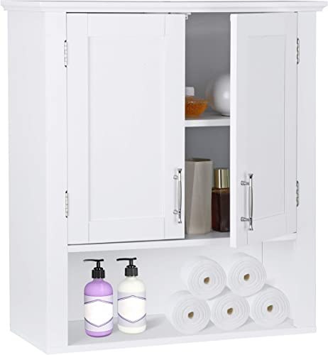 ZenStyle Bathroom Wall Cabinet Over The Toilet