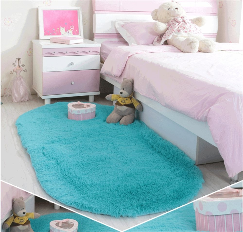 Soft Modern Fluffy Area Rug for Living Room Bedroom Kids Room Nursery Meng Ge
