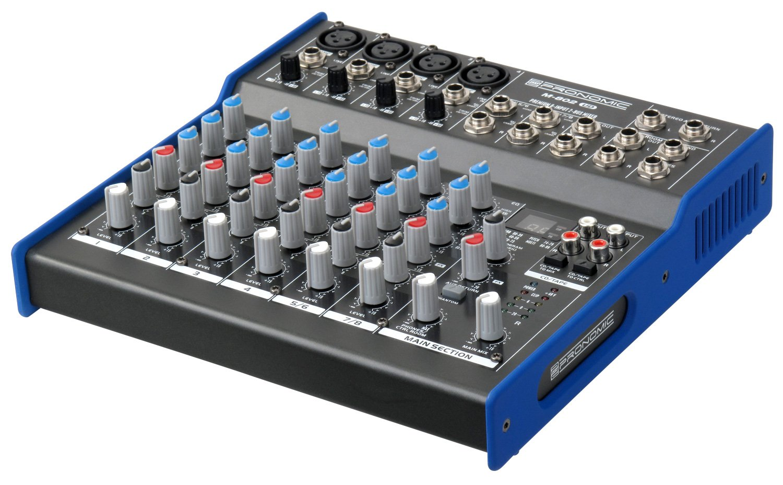 PronomicM 802UD - Mesa de mezclas, USB: Amazon.es: Instrumentos ...