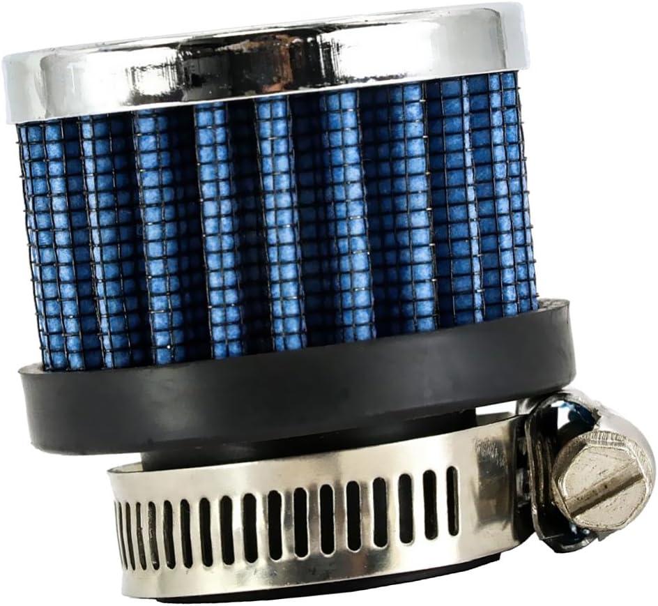 Sharplace Filtre /à Air DAdmission Air Froid Universel C/ône 25mm 1  Bleu
