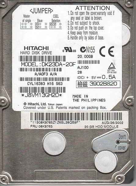HITACHI DK23DA 20 DRIVER FOR PC