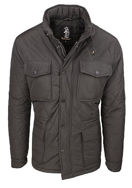 Refrigue Giaccone piumino uomo R57293MYQ2M giacca giubbotto casual marrone  invernale taglia XL (XL)  Amazon.it  Abbigliamento 66039a938bf