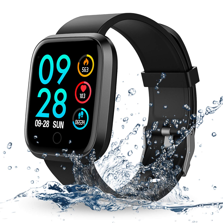 Reloj Inteligente, RIVERSONG Smartwatch Pulsera Inteligente con ...