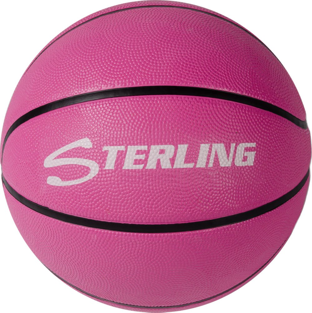 Sterling Superior Grip Pink Junior Size 5 Rubber Basketball