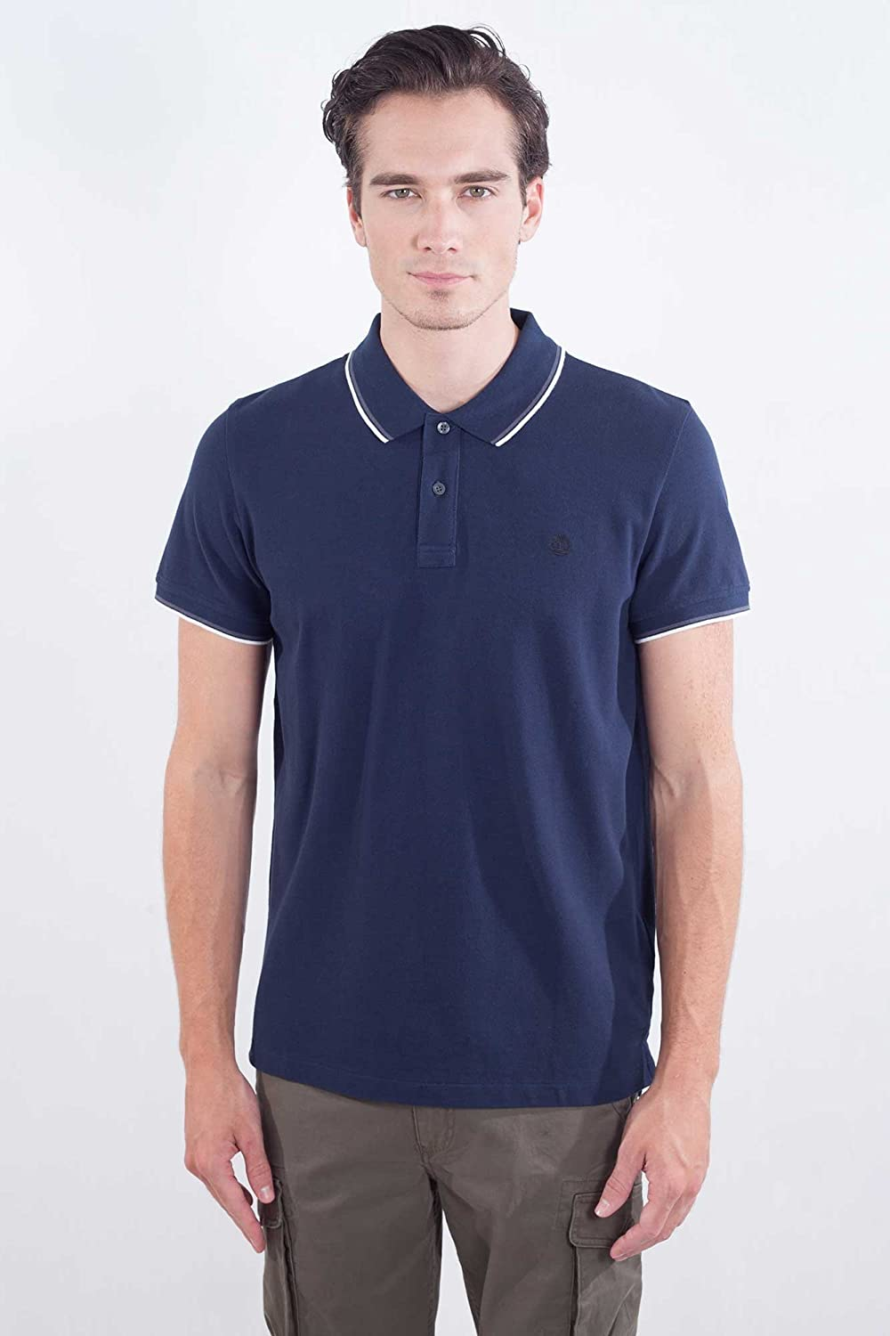 Timberland - Polo - para Hombre Turquesa X-Large: Amazon.es: Ropa ...
