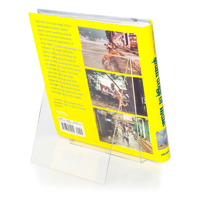 Espositore per libri originale PLEXIGLAS/® in formato DIN A6