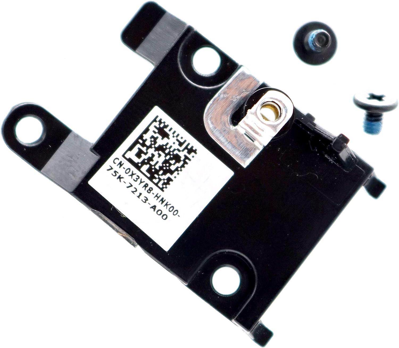 Deal4GO PCI-e M.2 SSD End Mounting Bracket Hard Drive Caddy X3YR8 0X3YR8 for Dell Latitude E5570 E5470 E5270 E7270 5480 Precision 15 3510 M3510