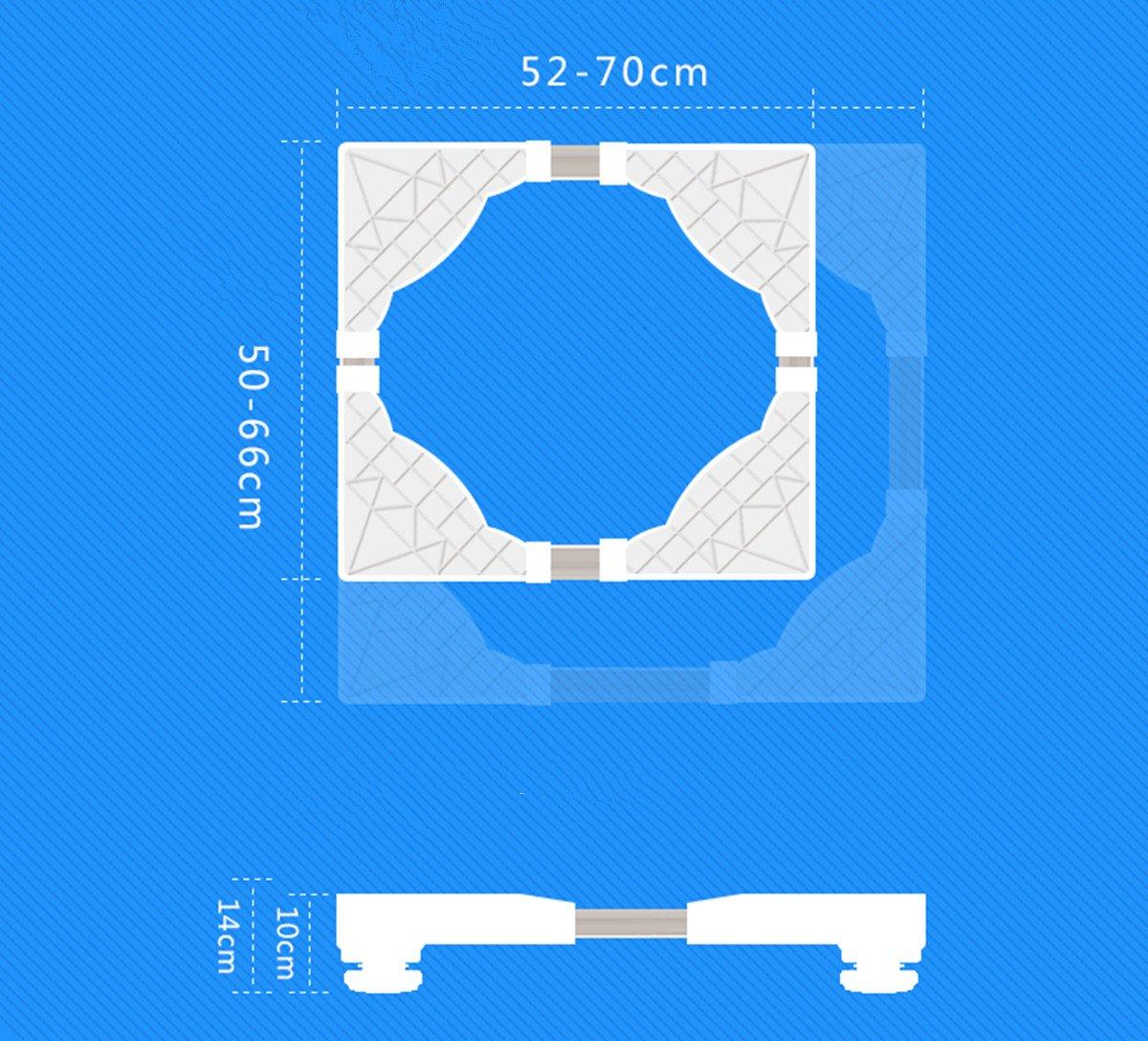 K/ühlschr/änke Waschmaschine Sockel K/ühlschrank Basis Verstellbare Sockel mit 4 Verstellbar F/ü/ße Waschmaschine Bodenrahmen K/ühlschrank H/öhenverstellbare Halterung Waschmaschine Basis F/ür Trockner