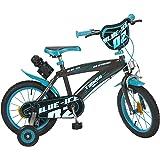 Huffy Bicicleta BMX Pirate de 14 Pulgadas para niños, Color Blanco, Bicicleta expuesta como Nueva: Amazon.es: Deportes y aire libre