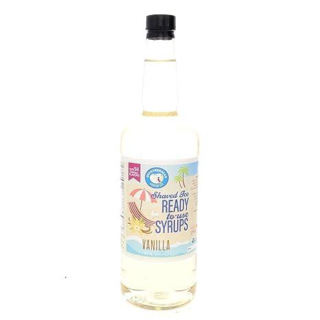 Vanilla Ready to Use Hawaiian Shaved Ice or Snow Cone Syrup Quart (32 Fl. Oz)