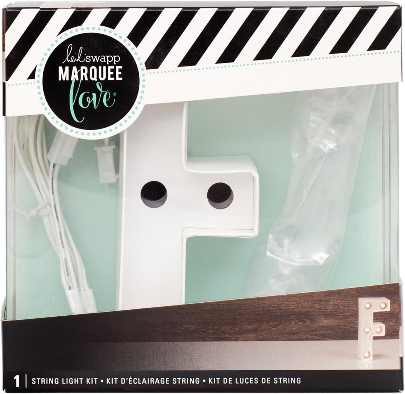 "Heidi Swapp Marquee Love Light Strand 45/""-24 Clear Bulbs"