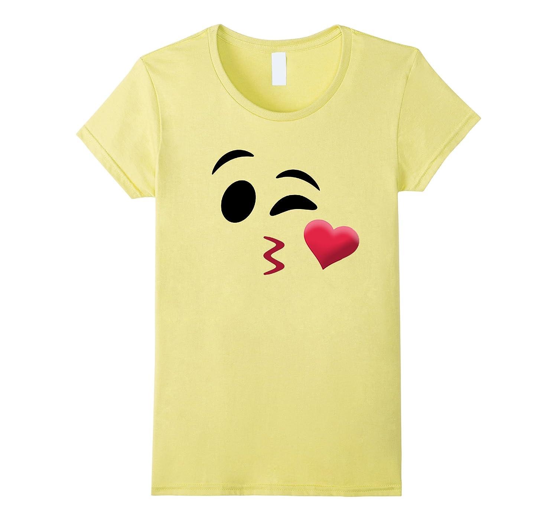 Halloween Emoji Kiss Shirt for Team Family Teachers Group