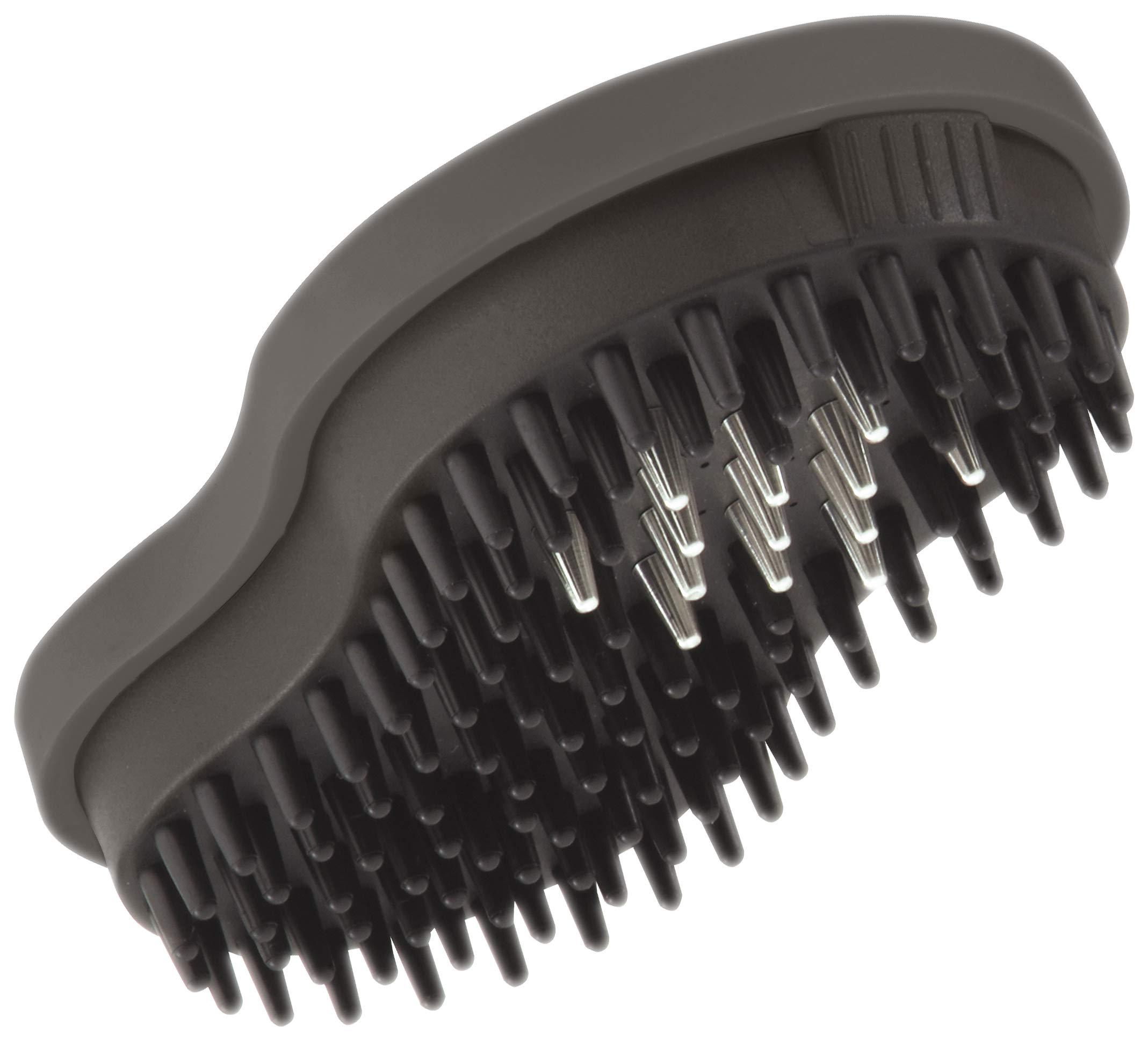 Zielonka Zilopet Natural Pet Brush with Deodorizer, Black