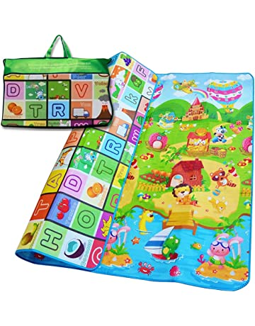 Toys & Hobbies Kids Carpet Rug Play Mat Toys Large Safe Childrens Educational Road Traffic Activity Center Developing Crawling Puzzle Blanket