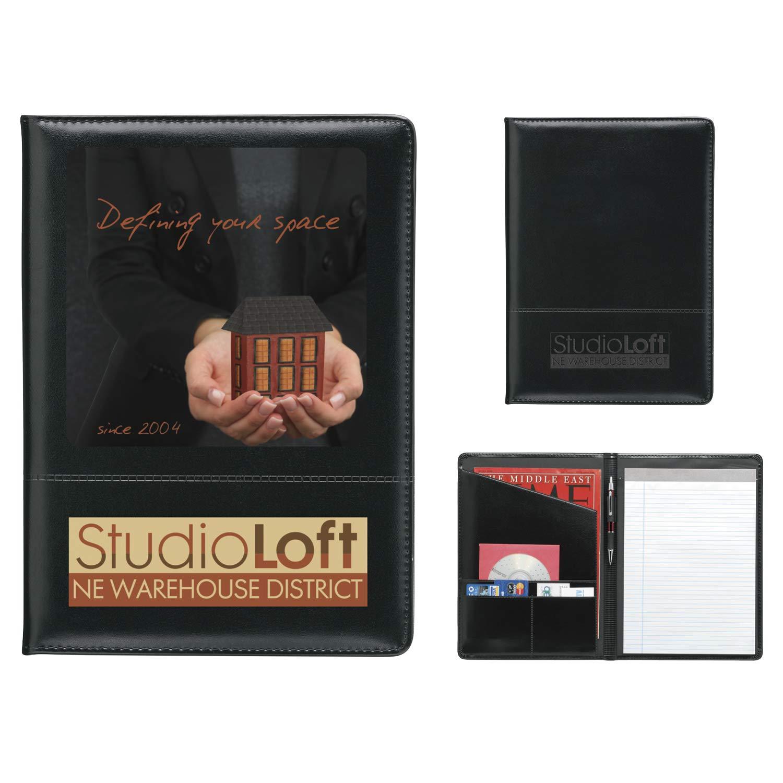BIC Graphic Script Padfolio Black 250 Pack