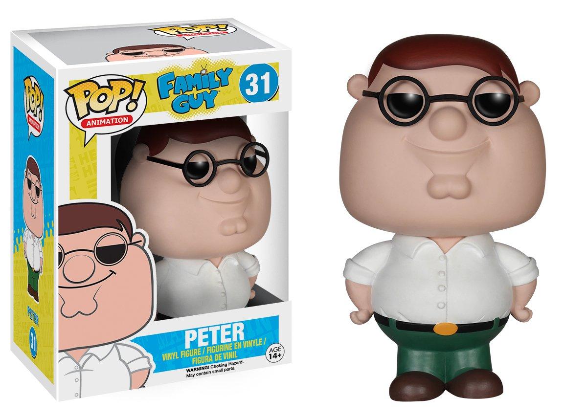 funko pop griffin  : Funko POP TV: Family Guy Peter Action Figure: Funko Pop ...