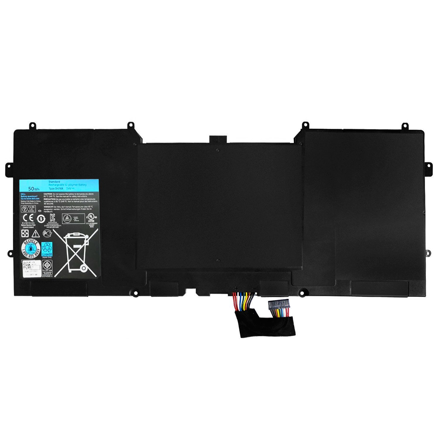 Zthy Compatible 3h76r New Laptop Battery Replacement For 6400 Converter Wiring Diagram Dell Xps 12 9q32 9q33 9q34 L221x L321x L322x 13 9333 4fjxy Series