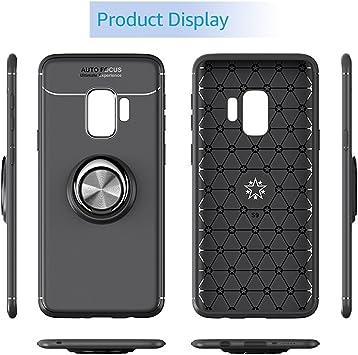 Watache Galaxy S9 Hülle Metall Ring Grip Halter Elektronik
