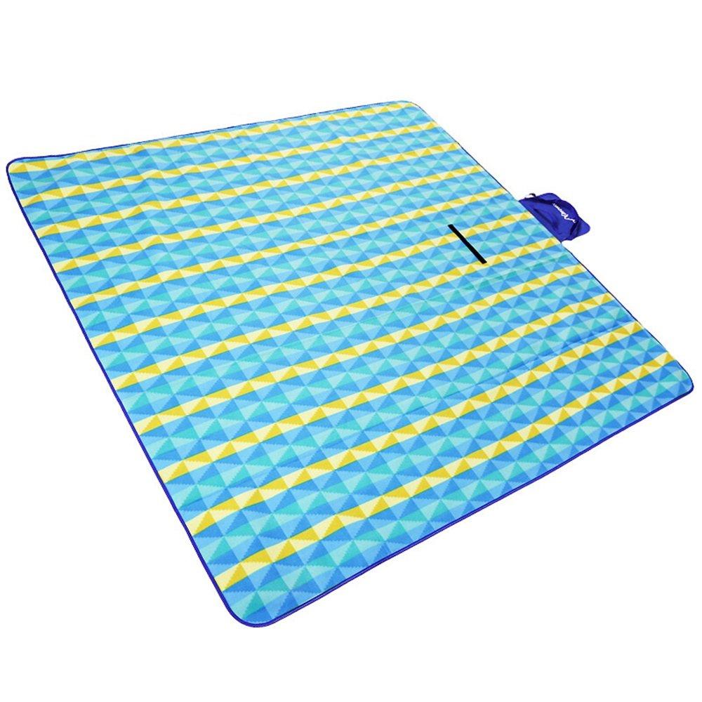 Moistureproofマット子供クロールマット/アウトドアマットテントマット/超軽量折りたたみポータブルマット(200200 cm/3色) B07DYQR9VL  B