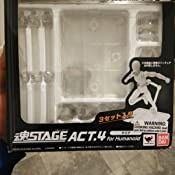Figure not included S.H Figuarts Stage Act 4 Tamashii Stand with rubber grips