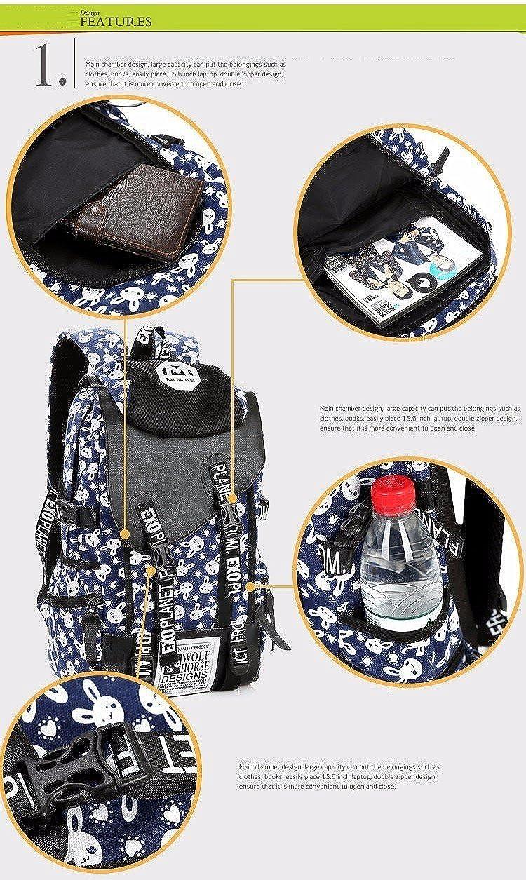 Amazon.com | Hot Vintage Retro Women Canvas Backpack Travel Rucksack Hobo School Bag Satchel bag Womens (1) | Kids Backpacks