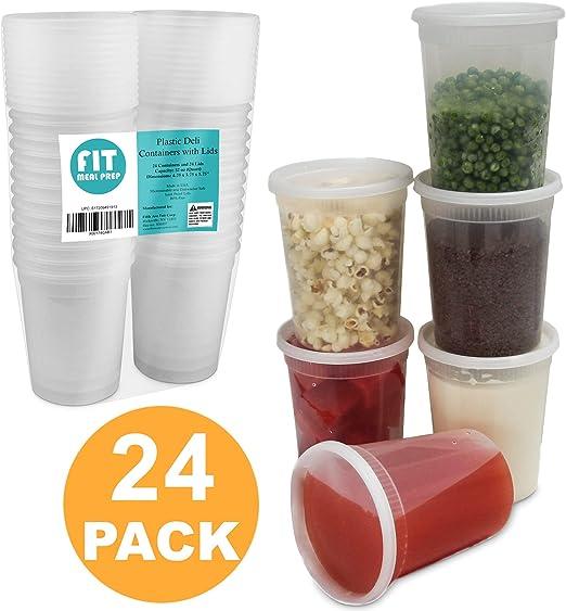 Amazon.com: Contenedores para almacenamiento de alimentos ...