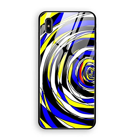 Amazon Com Iphone X Case Tempered Glass Abstract Artistic