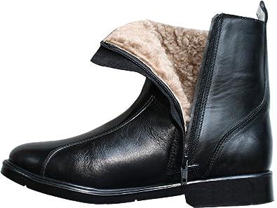 Website für Rabatt suche nach neuestem günstigster Preis Winterstiefel Stiefelette lammfellstiefel Stiefel echtleder Lammfell Schwarz