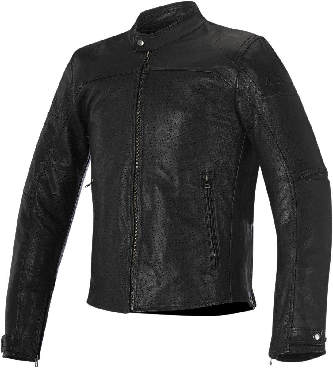 Black 54 Alpinestars Brera Airflow Mens Street Motorcycle Jackets