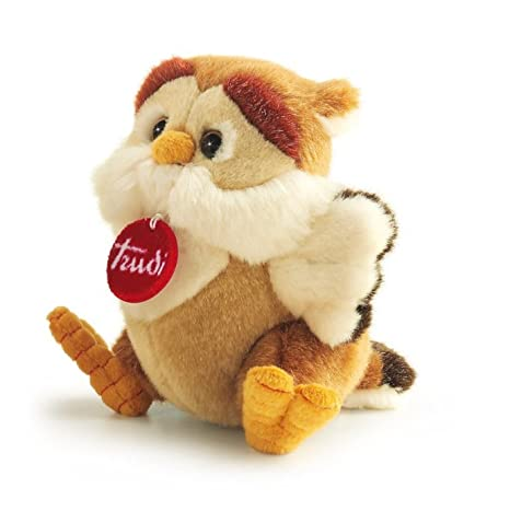 "Trudi Classic Owl Rinaldo Plush Toy, 7"""