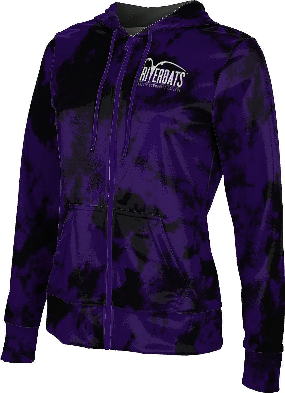 School Spirit Sweatshirt Grunge ProSphere Austin Community College Girls Zipper Hoodie