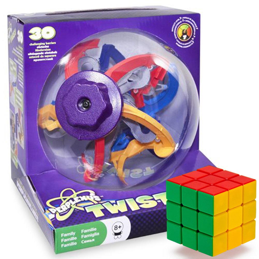 The Twisted Brain Bending Perplexus Twist Puzzle Cube