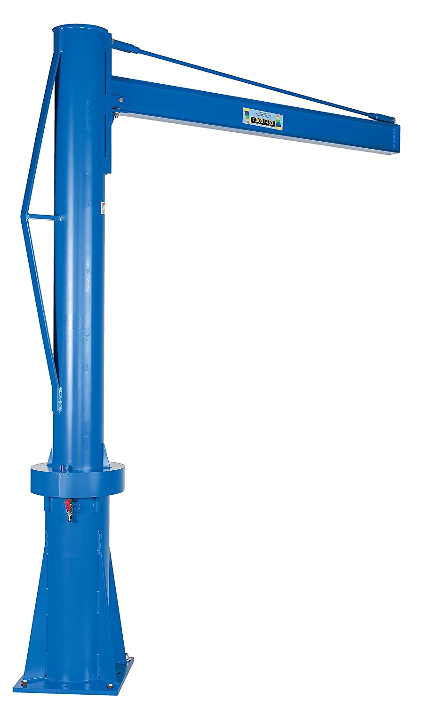 Multi-Station Jib Crane 6 Vestil Transportable Capacity 1000-Lb 8 Clearance