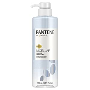 Pantene, Shampoo, with Micellar Water, Gentle Cleansing Pro-V Blends, 17.9 fl oz