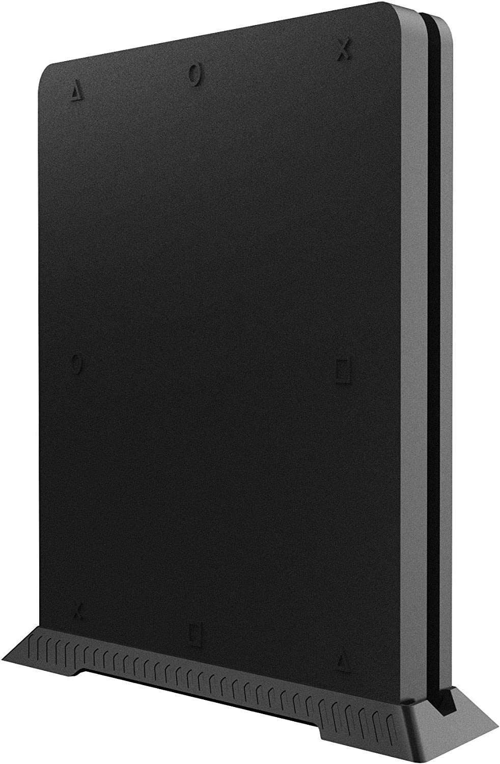 Kootek Vertical Stand for PS4 Slim with Airflow Vents /& Non Slip Feets Steady /& Space Saving Playstation 4 Slim Console Mounts for Table Desk
