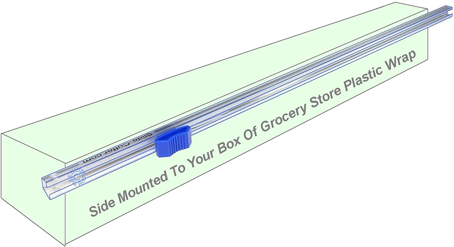 49.5cm Long Slide Replacement Cutter for Kitchen Plastic Wrap