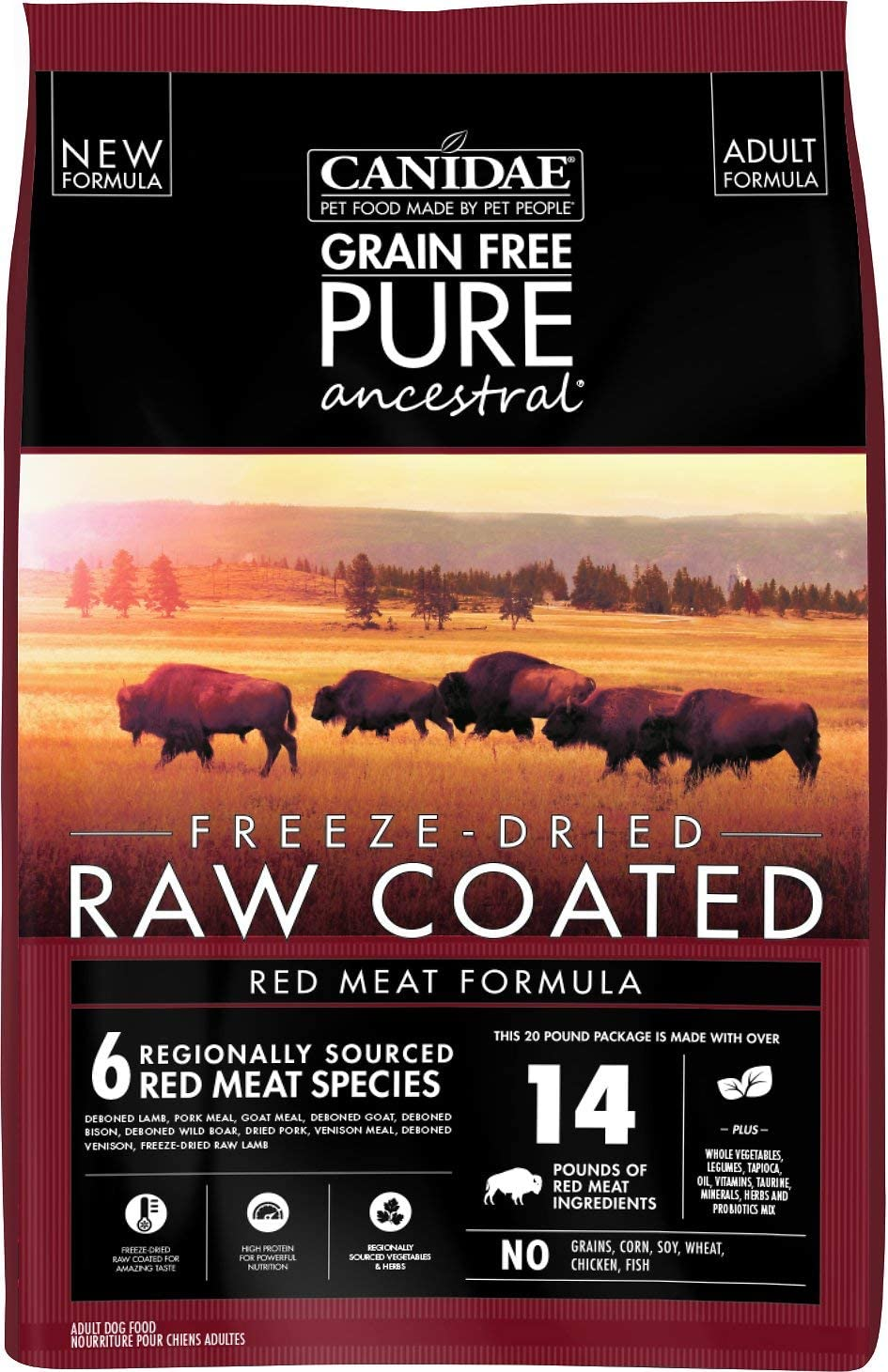 Canidae Pure Ancestral Best Dog Food to prevent gas