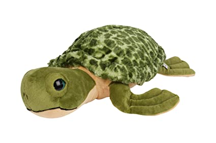 Amazon Com The Petting Zoo Giant Sea Turtle Plush Stuffed Animal