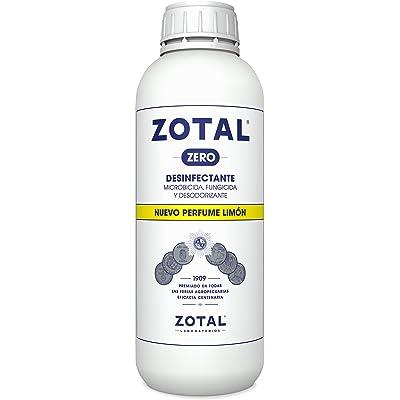 Zotal Zero 70100140 Desinfectante Microbicida, Limón - 1000 ml