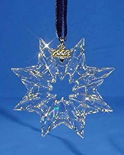 1bba15bd4f21 Amazon.com  Swarovski 2000 Annual Christmas Snowflake   Star ...